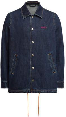 Kenzo Denim Jacket with Drawstring Waist