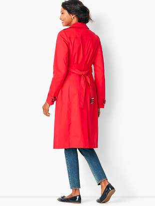 Talbots Refined Cotton Trench Coat