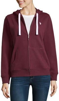 U.S. Polo Assn. Long Sleeve Fleece Hoodie-Juniors