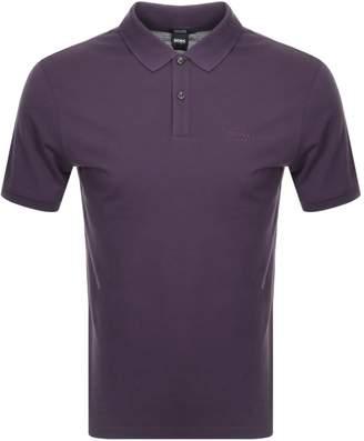 HUGO BOSS Pallas Polo T Shirt Purple