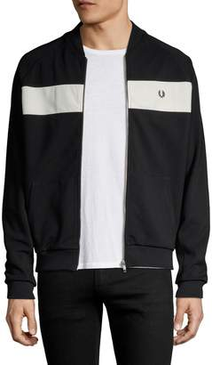 Fred Perry Men's Reverse Tricot Track Jacket