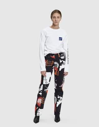 Calvin Klein Jeans Est. 1978 Printed Straight Jean