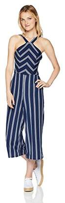 Amy Byer A. Byer Junior's Young Woman's Teen Full-Length Jumpsuit Romper