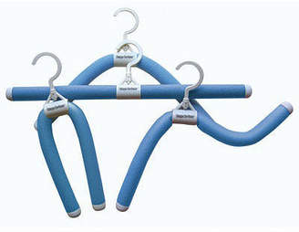 LUXURY LIVING Luxury Living Bumps Be-Gone Blue Hangers 20-Pack