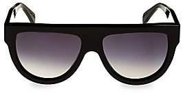 4ba634117a0c Celine Women s Flat Top Universal Fit Aviator Sunglasses