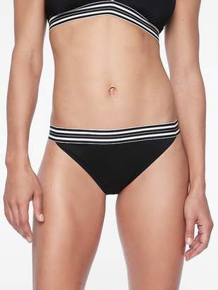 Athleta Gold Coast Solid Banded Bottom