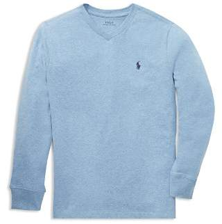 Ralph Lauren Boys' Long-Sleeve Cotton Tee - Big Kid