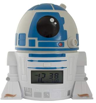 Star Wars Bulb Botz 2021401 R2D2 Night Light Alarm Clock