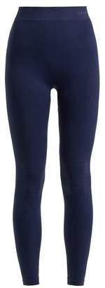 Falke High Rise Performance Leggings - Womens - Dark Navy