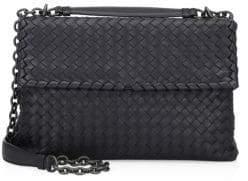 Bottega Veneta Olimpia Medium Intrecciato Leather Shoulder Bag