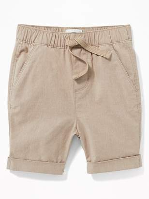 Old Navy Relaxed Built-In Flex Madras Shorts for Toddler Boys
