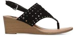 Fergalicious Carry Thong Wedge Sandals