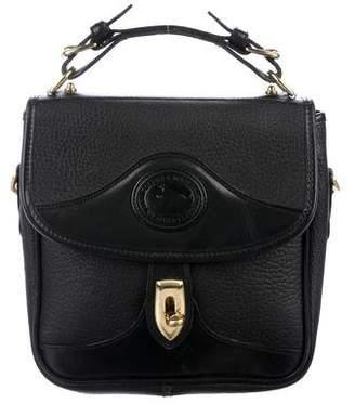 Dooney & Bourke Grained Leather Turn-Lock Bag