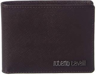 Roberto Cavalli Saffiano Leather Wallet