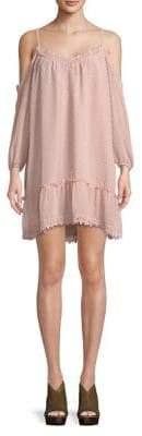 BB Dakota Cold-Shoulder Day Dress