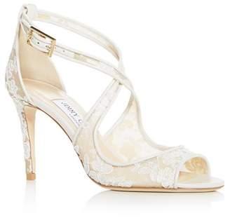 Jimmy Choo Women's Emily 85 Crisscross High-Heel Sandals