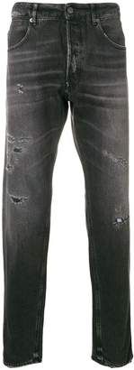Golden Goose distressed straight-leg jeans