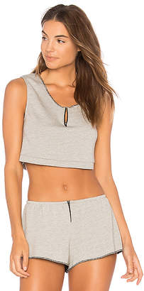 Only Hearts French Terry Cropped Tank
