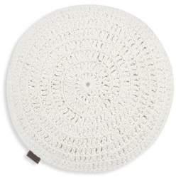 UGG Round Crochet Cotton Pillow