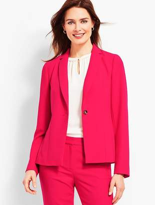 Talbots Luxe Italian Double-Cloth Blazer