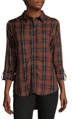 Hi-Lo Button-Down Shirt