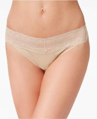 Natori Bliss Perfection Lace-Waist Thong 750092