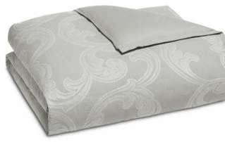 Hudson Park Collection Modern Scroll Duvet Cover, Full/Queen - 100% Exclusive