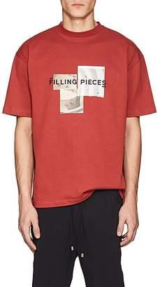 Filling Pieces Men's Guggenheim Museum-Print Cotton T-Shirt