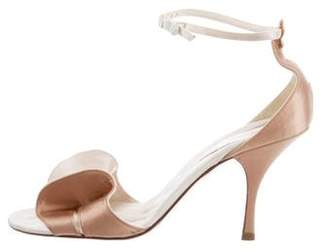 Chanel Bow Ankle Strap Sandals