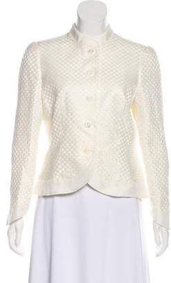 Armani Collezioni Structured Button-Up Jacket