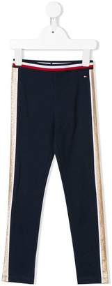 Tommy Hilfiger Junior glitter stripe leggings