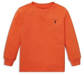 Ralph Lauren Boys' Long-Sleeve Cotton Tee - Little Kid