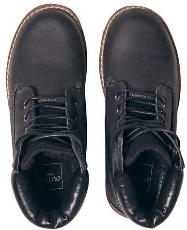 **Boys Black Worker Boots (5 - 12 years)