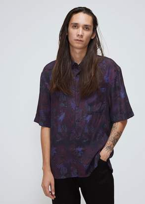 Lanvin Oversized Short Sleeve Shirt
