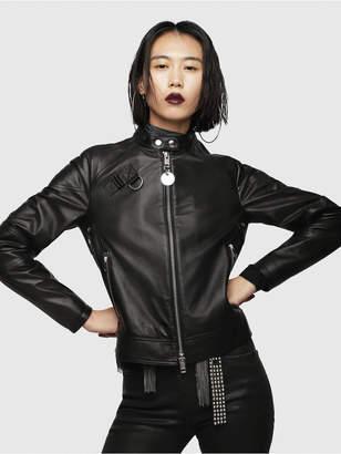 Diesel Leather jackets 0AATQ - Black - L