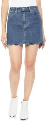Joe's Jeans Bella Wavy Hem Denim Skirt
