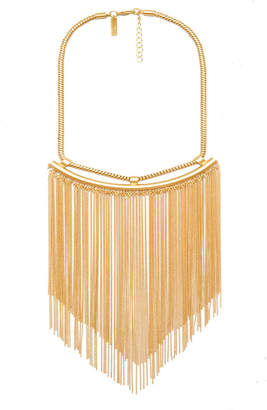 Rachel Zoe Georgie Fringe Collar Necklace
