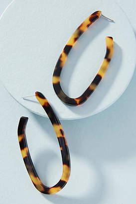 Rachel Comey Maya Oval Hoop Earrings