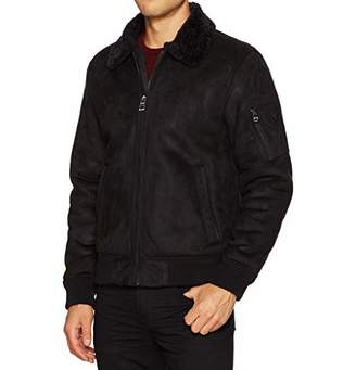 GUESS Men's Redmond Bomber Jacket