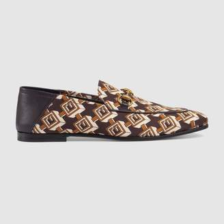 Gucci Geometric G print loafer