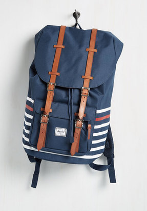 Herschel Supply Co. Expedition Mission Backpack in Americana $119.99 thestylecure.com