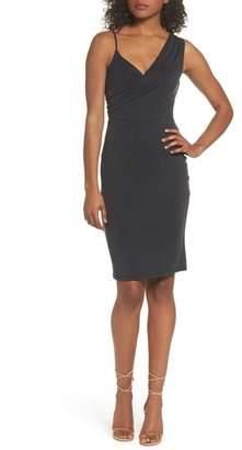 NSR Gracie Cupro Body-Con Dress