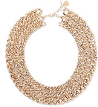 Rosantica Ingranaggio Gold-tone Pearl Necklace