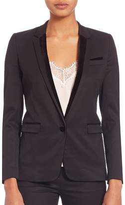 The Kooples Women's Long Sleeve Riding Jacket