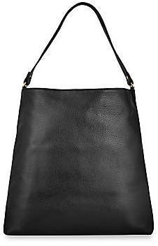 GiGi New York Women's Harlow Hobo Leather Bag