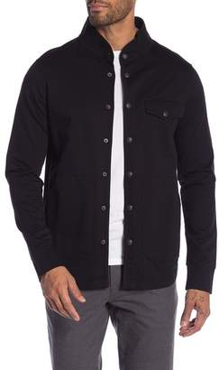 Good Man Brand French Terry Solid Shirt Jacket