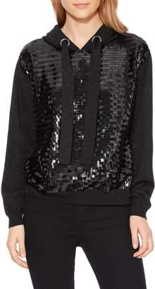 Parker Nolan Sequin Hooded Sweatshirt