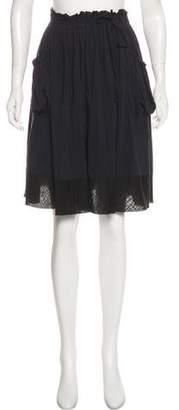 Theory Mini Trapeze Skirt