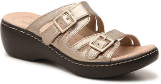Clarks Delana Liri Wedge Sandal - Women's