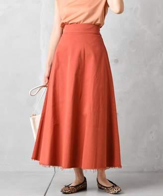 Doudou (ドゥドゥ) - ドゥドゥ 高密度チノAラインスカート